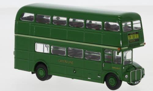 Brekina 61101 H0 1/87 Scale AEC Routemaster Bus Coach Green Line 1960 721 Aldgate MIMB